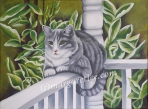 Mittens - 12x16 Oil - Manchester, MD